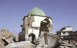 Iraq to rebuild mosque destroyed in IS clash