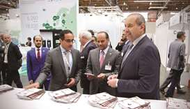 Sheikh Ahmed attends launch of Qatar pavilion at Hanover International Industrial Fair 2018