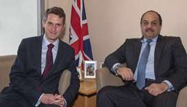 Deputy PM reviews defence ties with UK secretary