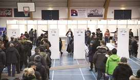 Greenland holds general election