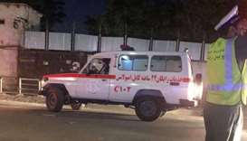 Three people wounded in two blasts in Kabul