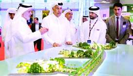 UDC president and CEO Ibrahim Jassim al-Othman said the launch of Gewan Island at Cityscape Qatar 20