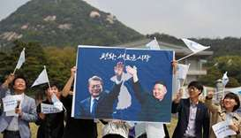 Kim and Moon to meet at demarcation line before summit