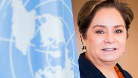 Patricia Espinosa, executive secretary of the UN Framework Convention on Climate Change