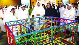 HE the Minister of Economy and Commerce Sheikh Ahmed bin Jassim bin Mohamed al-Thani, HE the Ministe