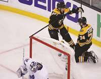 Leafs suffer playoff collapse to Bruins