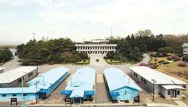 Kim, Moon to meet at military demarcation line for summit