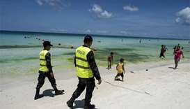 Philippines' Boracay Island closes for six-month clean-up