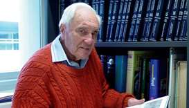 Australia's oldest scientist David Goodall