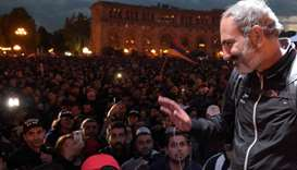 Armenia 'hero' opposition leader nominated for PM