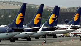 India's Jet grounds three-fourths of fleet as it awaits bailout funds