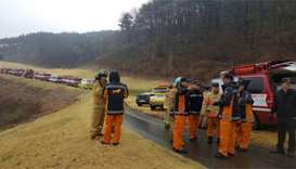 Two South Korea pilots feared dead in fighter crash