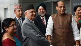 Nepal PM Oli seeks to improve relations with India