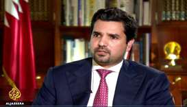 Qatar's ambassador to the US Sheikh Meshal bin Hamad al-Thani