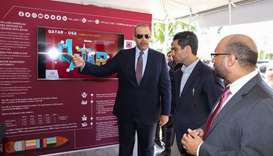 Minister opens Qatar expo in Miami