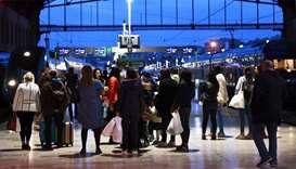 French rail workers strike again; fewer disruptions reported