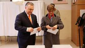 Turnout high in Hungary as Orban fights to retain power