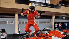 Sebastian Vettel marks 200th Formula One race in style