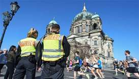 Germany frees six detained during Berlin half-marathon