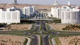 The new city close to the capital Ashgabat