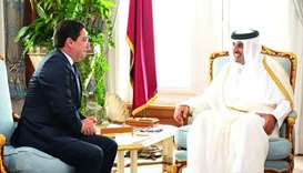 Amir receives message from Morocco king