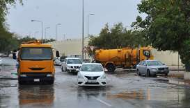 Emergency teams in overdrive to drain out rainwater