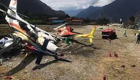 Three killed in aircraft runway accident near Everest