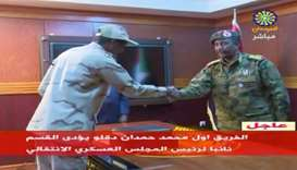 "Sudan's General Abdelfattah Mohamed Hamdan Dagalo, known as ""Hemeti"","