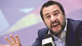 Italy's Salvini rules out early vote, dictates policy agenda