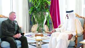 Amir meets US Central Command chief