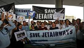 Flight suspensions hit Jet Airways shares amid crisis meeting