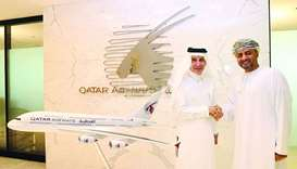 Qatar Airways is 'official airline partner' for Oman sports events
