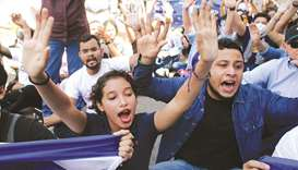 67 held at Nicaragua opposition protest rally