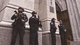 Man enters cathedral with full gas cans and lighters