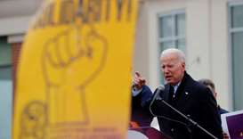 Former U.S. Vice President Joe Biden, a potential 2020 Democratic presidential candidate, speaks at