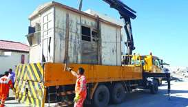 Abandoned vehicles, equipment removed
