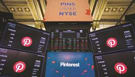 Pinterest shares soar in debut in this year's second-biggest US IPO