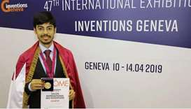 HBKU student awarded for innovative solutions