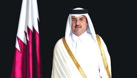 Amir receives phone call from Prime Minister of Bahrain on the occasion of Ramadan