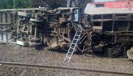 14 injured after train derails in northern India