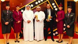 Qatar Airways named 'Best Route Network Developing Airline' at Omani event