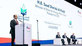HE the Minister of State for Energy Affairs and President and CEO of Qatar Petroleum Saad Sherida Al