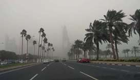 Met Dept warns of thundery rain, strong winds