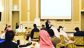 Qatar Fund for Developmen workshop