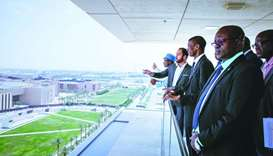 Gambian delegation visits Education City