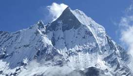 Malaysian climber has 'miracle' rescue on Nepal's Mt Annapurna