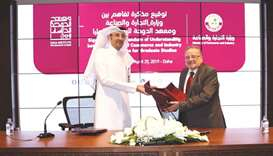 MoCI inks agreement with Doha Institute for Graduate Studies