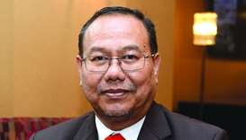 Mansor Shah Wahid, Matrade's director for Central, West, South Asia & Africa Section, is leading an