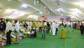 International Dates Exhibition at Souq Waqif