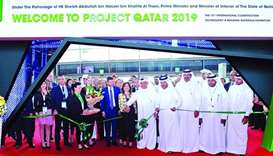 Ribbon cutting ceremony to officially open Project Qatar 2019 at DECC.